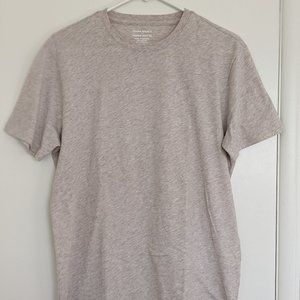 "Banana Republic Men's M - ""Premium Wash Tee"" Beige"
